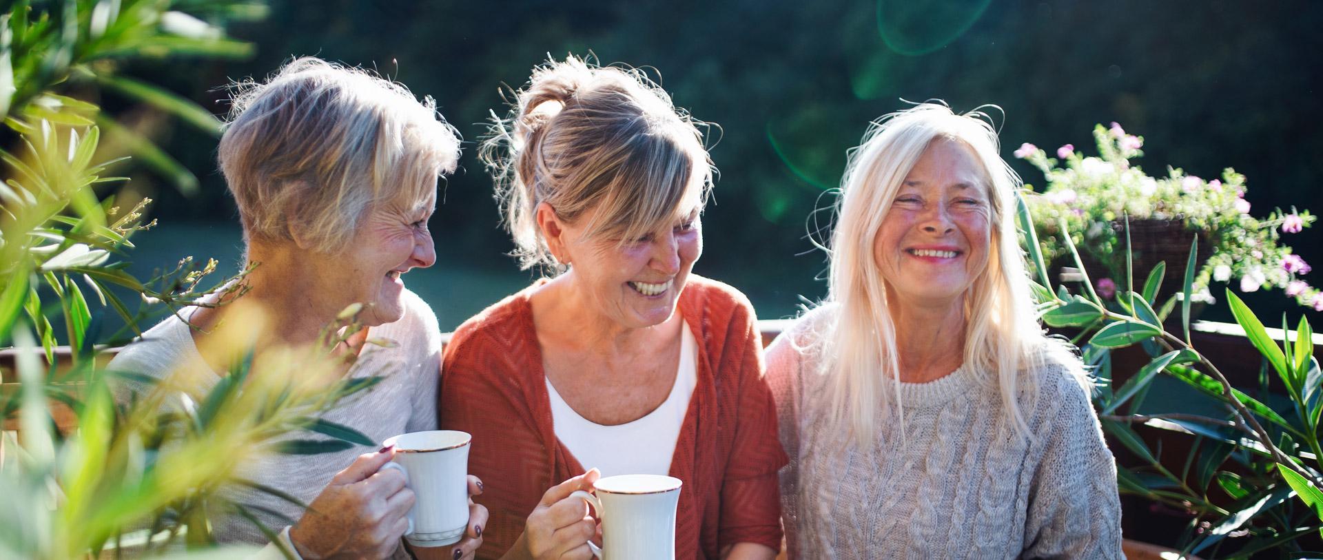 Drei Frauen, die dich begleiten